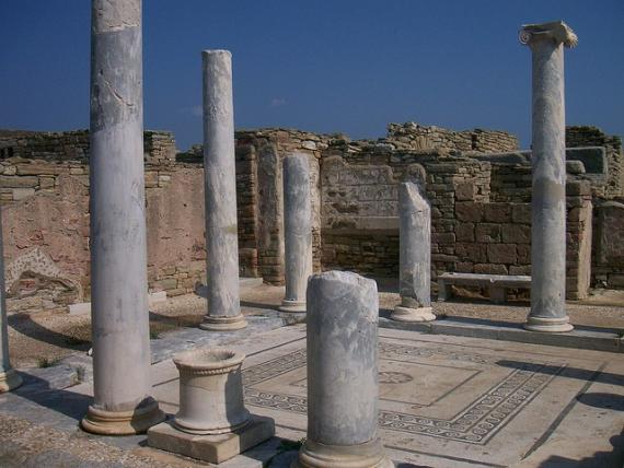 'Ancient Delos' - Mykonos